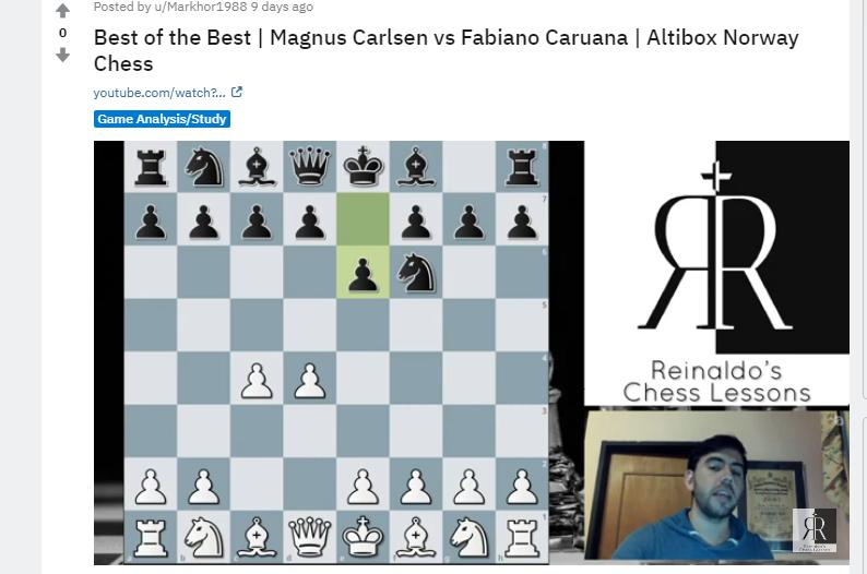 Photo of Best of the Best | Magnus Carlsen vs Fabiano <b>Caruana</b> | Altibox Norway Chess