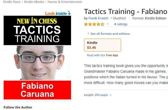 Photo of Tactics Training - Fabiano Caruana: How to improve your Chess with Fabiano Caruana and become a Chess Tactics Master